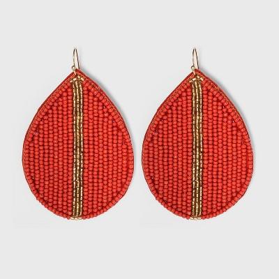 Seed Bead Teardrop Earrings - A New Day™