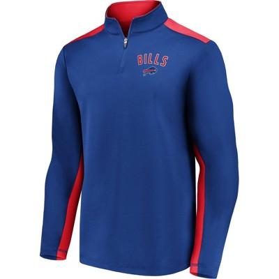NFL Buffalo Bills Men's 1/4 Zip Fleece Sweatshirt