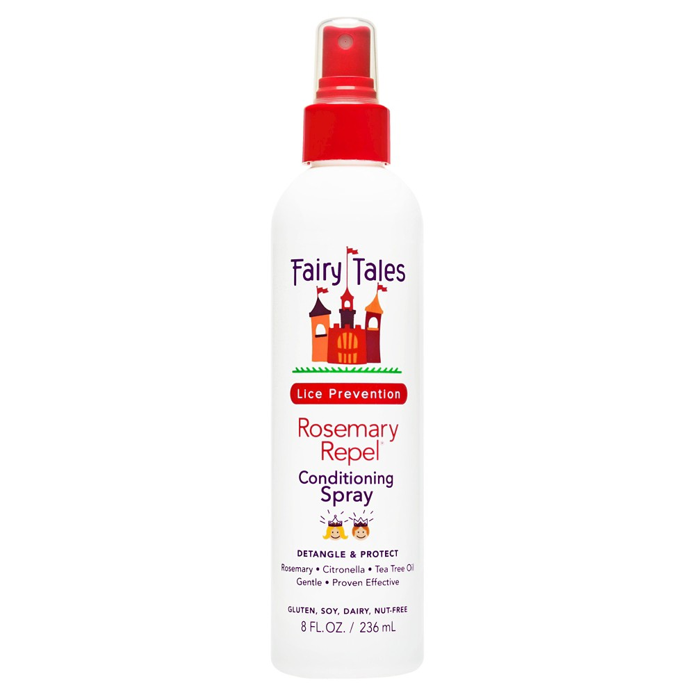 Image of Fairy Tales Rosemary Repel Lice Prevention Conditioning Spray - 8 fl oz