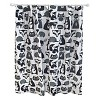 Forest Friends Shower Curtain Black - Pillowfort™ - image 2 of 2