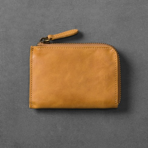 Leather Saddle Coin Purse - Cognac - Hearth & Hand™ with Magnolia - image 1 of 2