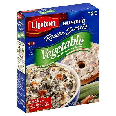 Lipton Kosher Vegetable Recipe Soup & Dip Mix - 2oz
