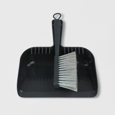 Mini Hand Broom and Dust Pan Set - Made By Design™ - image 1 of 4