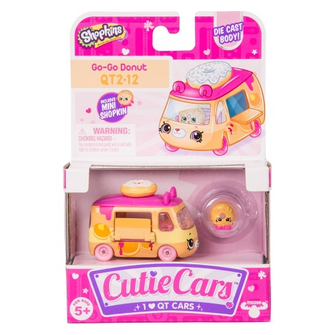 Cutie Cars® Shopkins® Single pack - Go-Go Donut - image 1 of 8