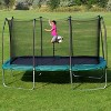 Skywalker Rectangle Trampoline with Enclosure - Green (14') - image 2 of 4