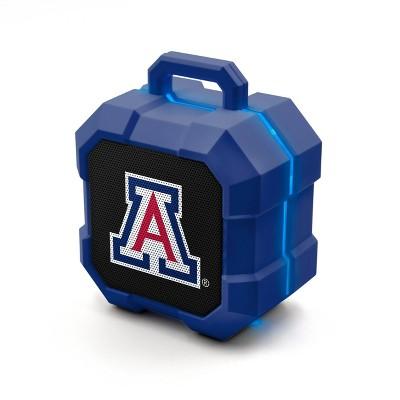 NCAA Arizona Wildcats LED Shock Box Bluetooth Speaker