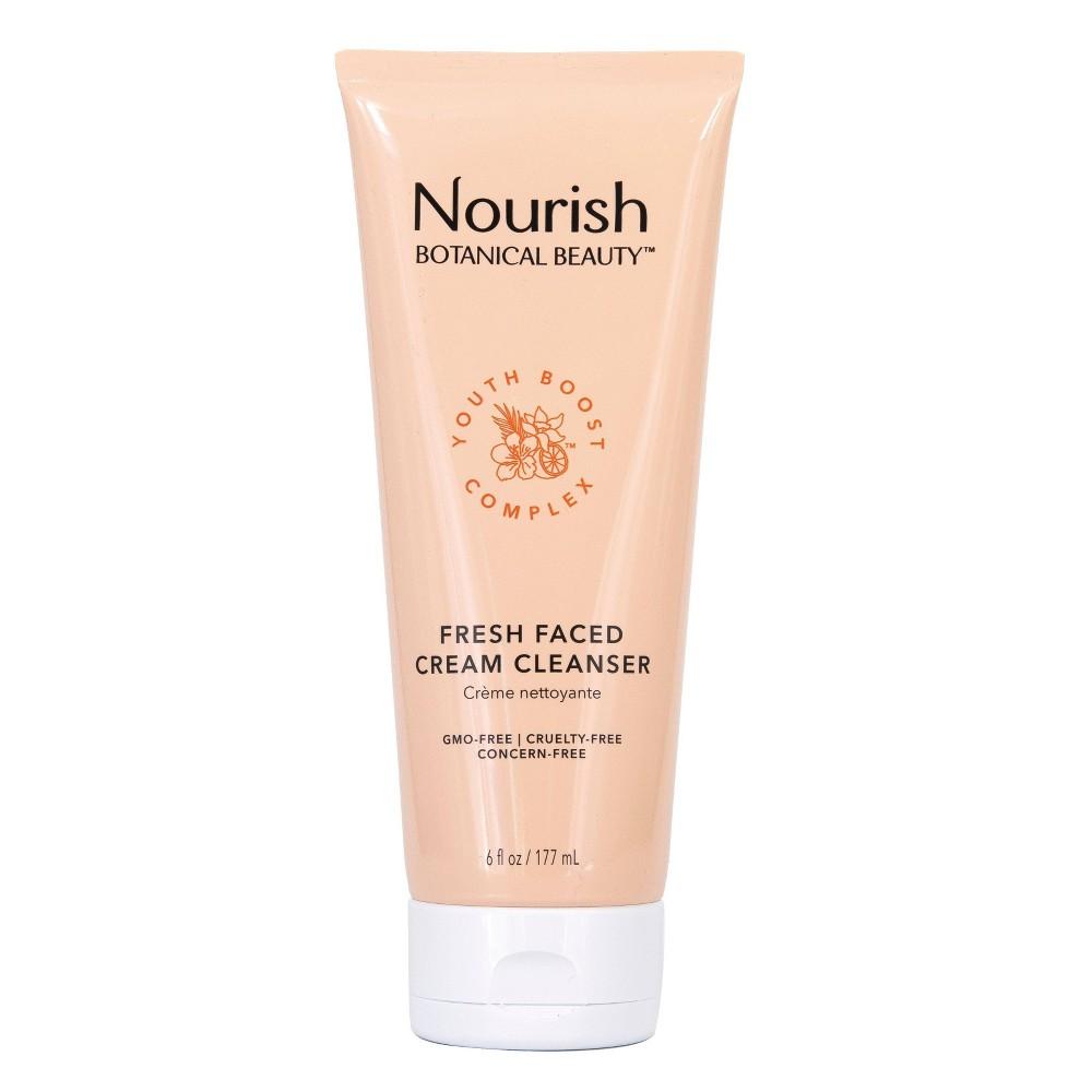 Image of Nourish Organic Botanical Beauty Fresh Faced Cream Cleanser - 6 fl oz