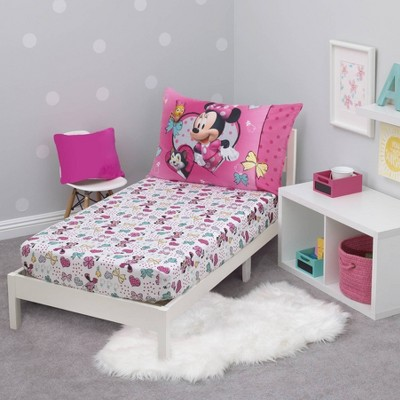 Mickey Mouse & Friends Minnie Mouse Toddler Sheet Set