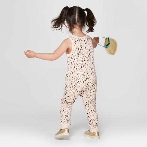 c3fabfff788 Toddler Girls  Romper - Cat   Jack™ Peach   Target