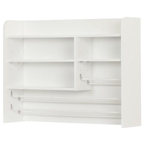 Crea Craft Storage Hutch - Pure White - South Shore - image 1 of 11