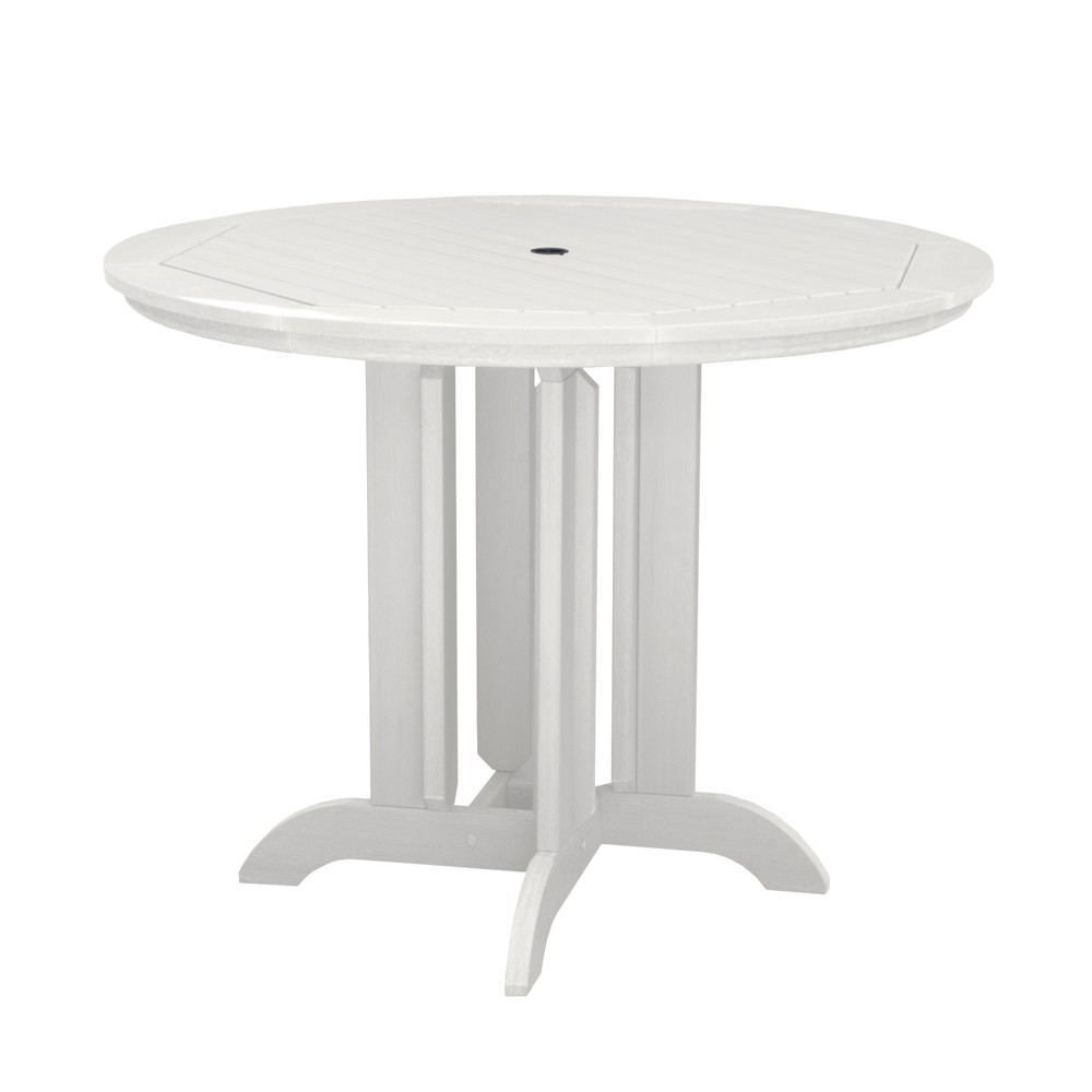 Round 48 Counter Dining Table White - Highwood