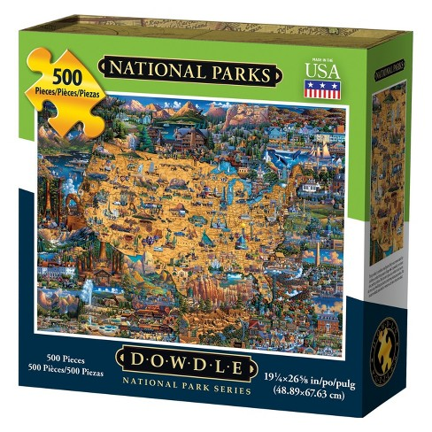Dowdle Jigsaw Puzzle - National Parks - 500pc - image 1 of 4