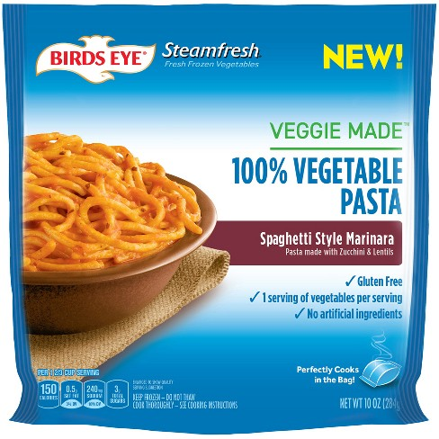 Birds Eye Steamfresh Marinara Frozen Veggie Made Spaghetti - 10oz - image 1 of 1