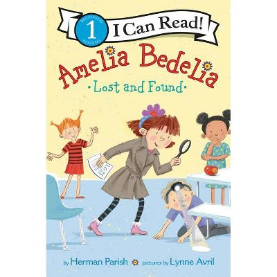 Amelia Bedelia Lost and Found - (I Can Read Level 1) by  Herman Parish (Paperback)