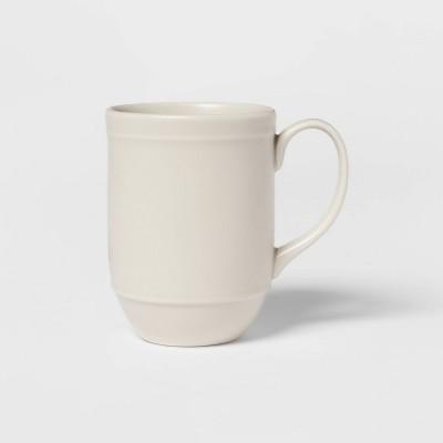 8oz Porcelain Courtland Mug White - Threshold™