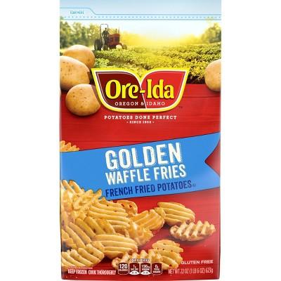 Ore-Ida Frozen Golden Waffle Fries - 22oz
