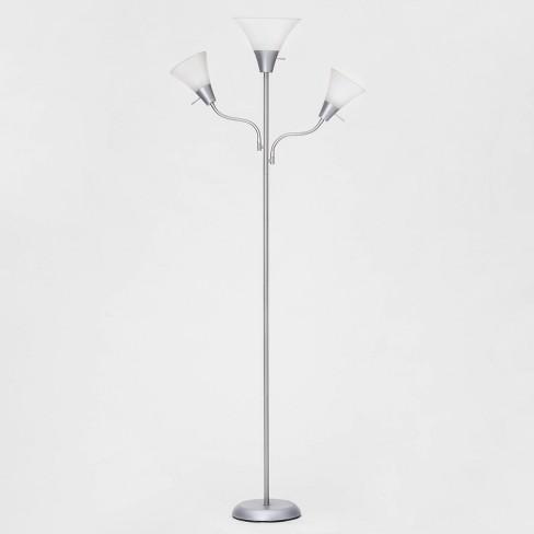Lights Floor Lamp Silver