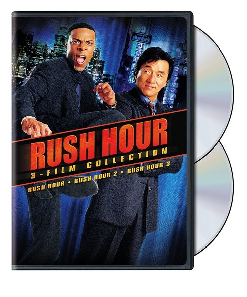 Rush Hour 1-3 Collection (Classic Rewind 90s) (DVD) - image 1 of 1