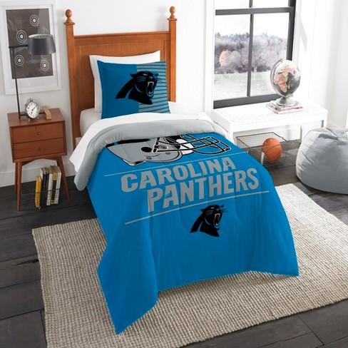10bb33c8866 NFL Carolina Panthers Northwest Draft Twin Comforter Set : Target