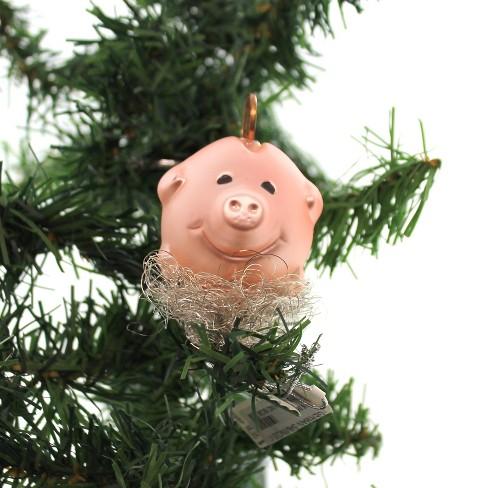 Inge Glas German Savings Clip-On Piggy Bank Ornament German - image 1 of 3