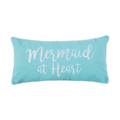 C&F Home Mermaid At Heart Embroidered Pillow