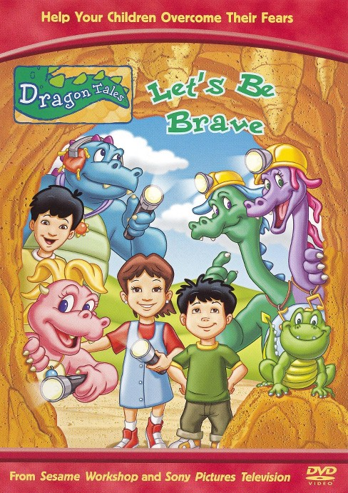 Dragon tales:Let's be brave (DVD) - image 1 of 1