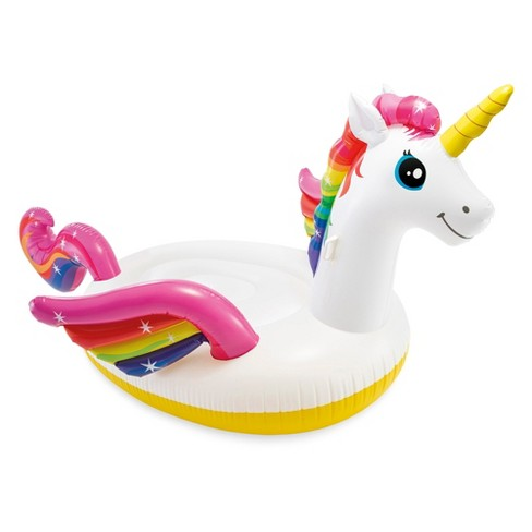 Mega Huge 9/' Tall Inflatable Unicorn Party Floating Island Raft NEW CLEARANCE