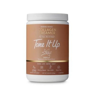 Tone It Up Marine-Based Collagen Creamer - Vanilla - 8.39oz