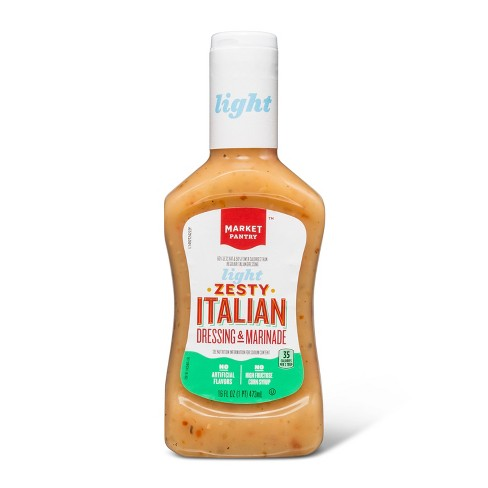 Light Zesty Italian Dressing & Marinade - 16oz - Market Pantry™ - image 1 of 1