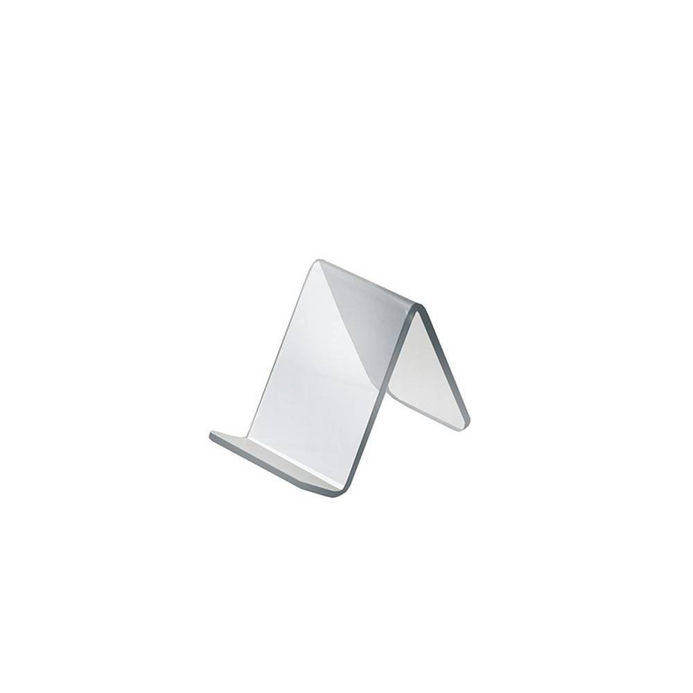 Azar Displays 1 875 X 3 5 X2 5 10pk Acrylic Easel With 1 Front Lip