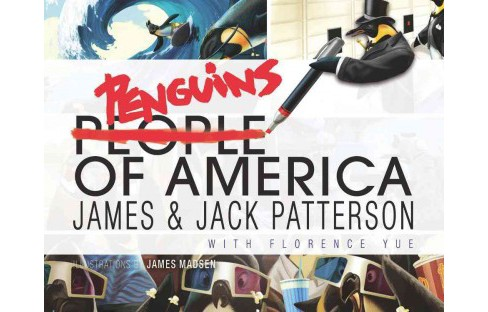 Penguins of America -  by James Patterson & Jack Patterson (Hardcover) - image 1 of 1