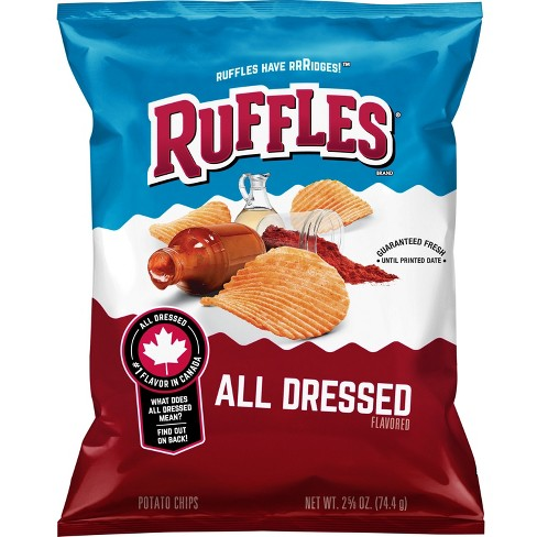 Ruffles All Dressed Flavored Potato Chips - 2.625oz - image 1 of 4