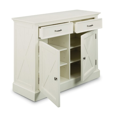 Seaside Lodge Buffet White - Home Styles - image 1 of 3