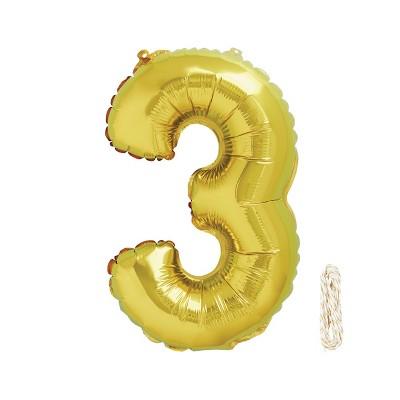 """34"""" Number Balloon - Spritz™"""