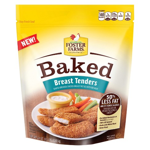 Foster Farms Frozen Baked Chicken Tenders - 24oz - image 1 of 1