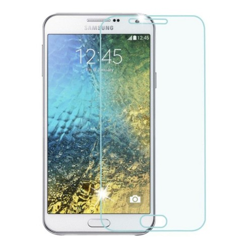 MYBAT Clear Tempered Glass LCD Screen Protector Film Cover For Samsung Galaxy E5 - image 1 of 1