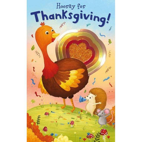 Hooray Thanksgiving by Roger Priddy (Board Book) - image 1 of 1