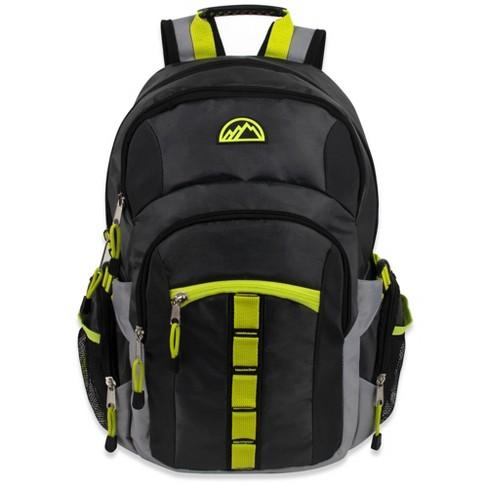 "Mountain Edge 19"" Deluxe Carrer Backpack - Dark Gray - image 1 of 4"