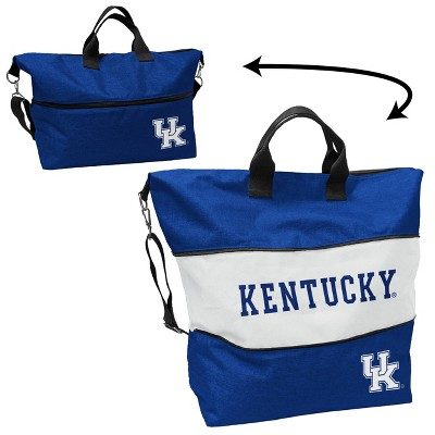 NCAA Kentucky Wildcats Crosshatch Expandable Tote