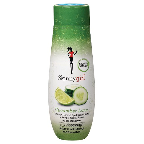 SodaStream Skinny Girl - Cucumber Lime  Flavor Mix (440ml) - image 1 of 1