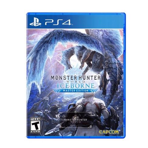 Monster Hunter World Iceborne Master Edition Playstation 4 Target