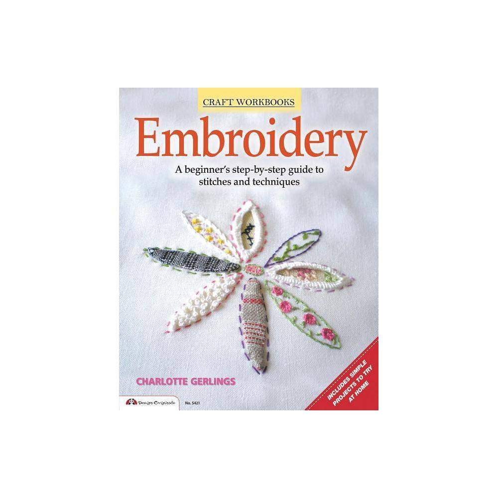 Embroidery By Charlotte Gerlings Paperback