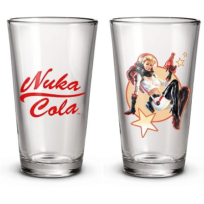 Fallout 2-Pack Pint Glass Set - Nuka Cola