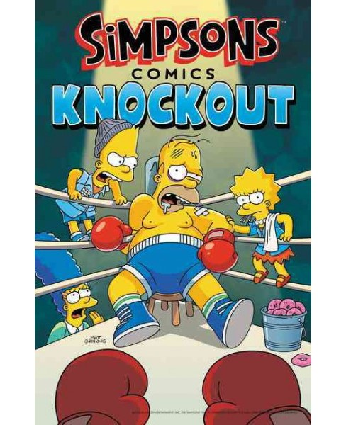 Simpsons Comics Knockout (Paperback) (Matt Groening) - image 1 of 1