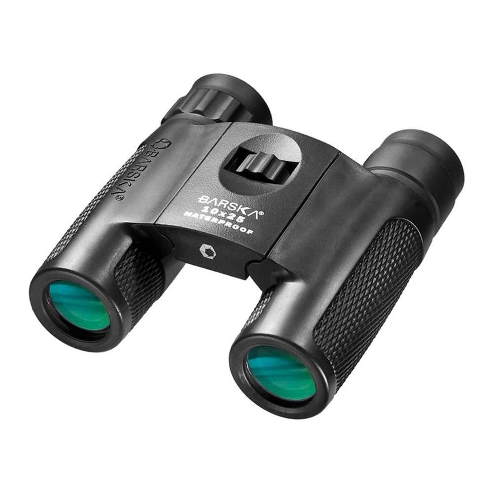 Barska 10x25mm Wp Blackhawk Compact Binocular Black