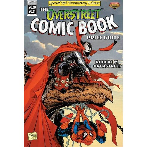 The Overstreet Comic Book Price Guide Volume 50 - Spider-Man/Spawn - by  Robert M Overstreet (Paperback) - image 1 of 1