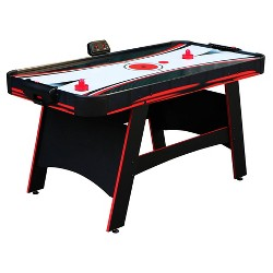 Hathaway Ranger 5' Air Hockey Table with Manual and Electronic Scoring System