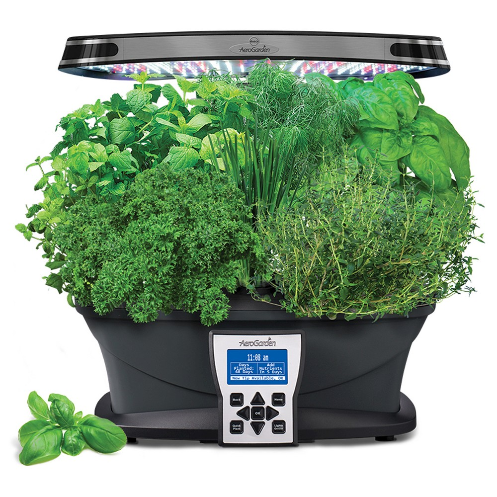 Miracle-Gro AeroGarden Ultra with Gourmet Herbs Seed Pod Kit - Black