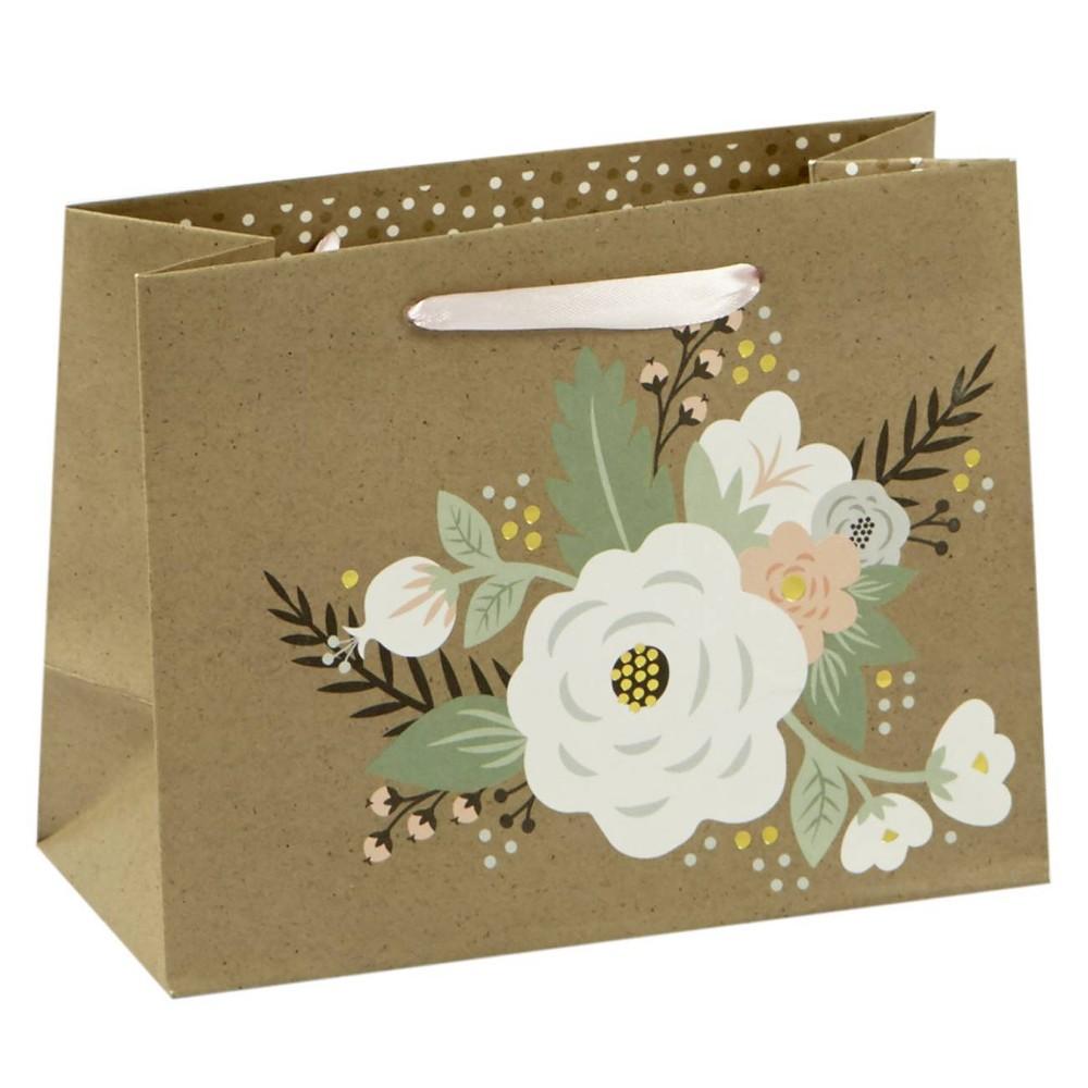 Image of Floral Petite Cub Gift Bag - Spritz, Multi-Colored