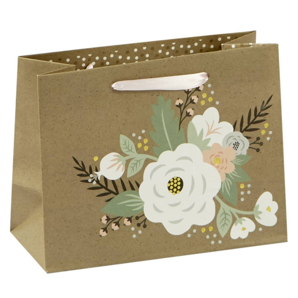 Image of Floral Petite Cub Gift Bag - Spritz, Multi-Colored